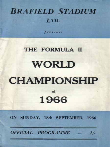 Brafield, Northampton 1966, Won by Steve Bateman
