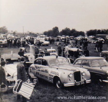 Brafield pits F2 World Final Day 1966