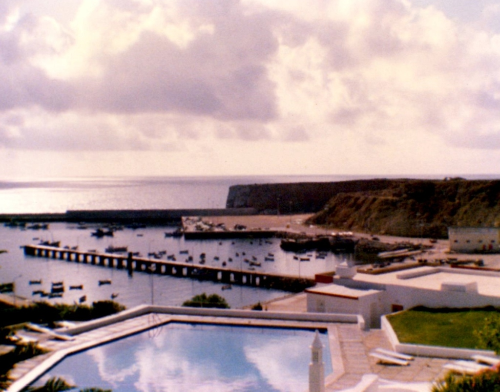 View from our Hotel in Sagres