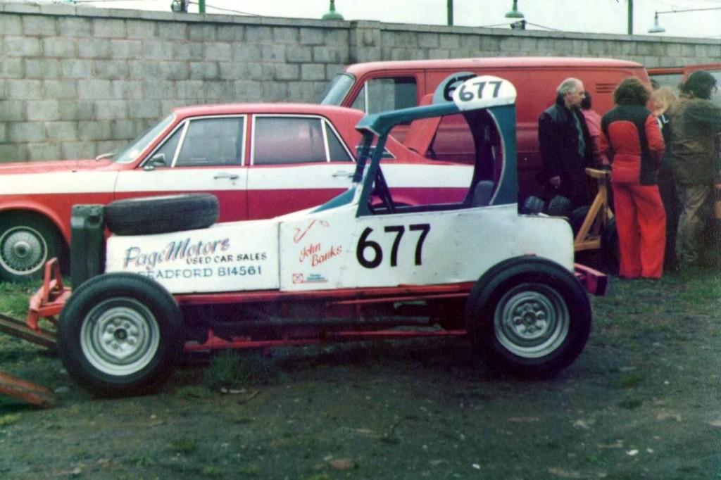 Roy Page # 677     John Edington Photo.