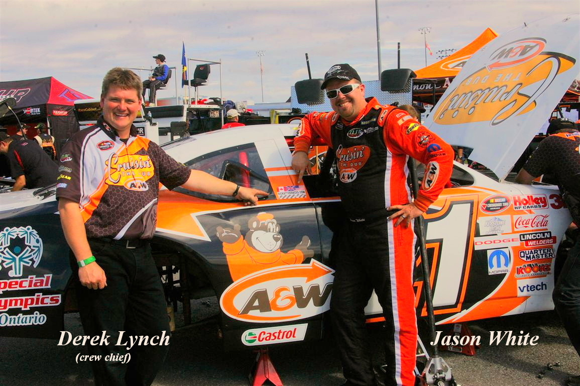 Derek Lynch and Jason White