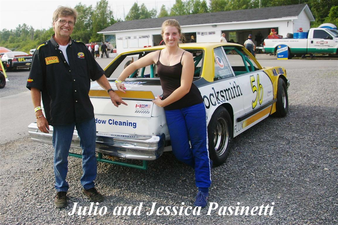 Julio and Jessica Pasinetti