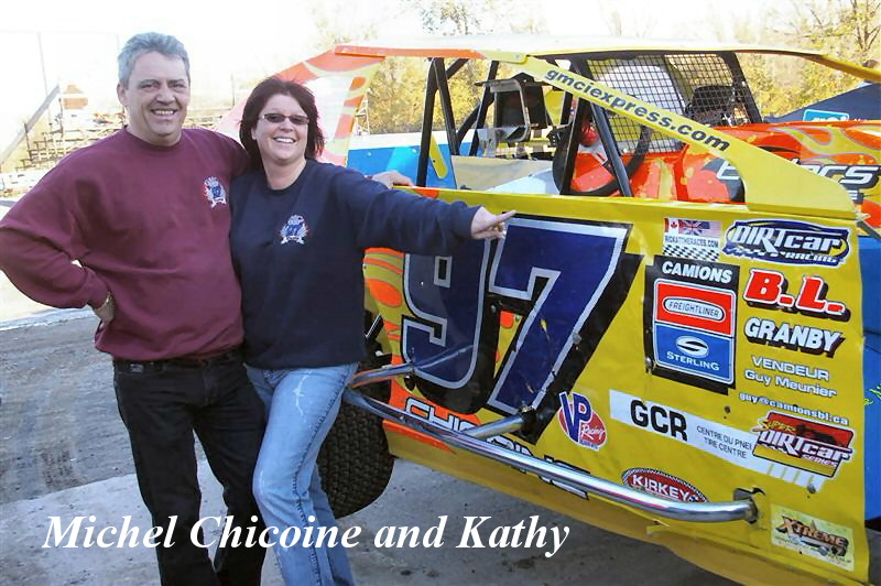 Michel Chicoine and Kathy