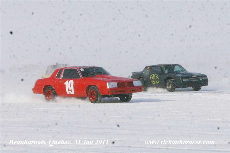 beauharnois ice racing 31 jan 2011 rick at the races. Black Bedroom Furniture Sets. Home Design Ideas