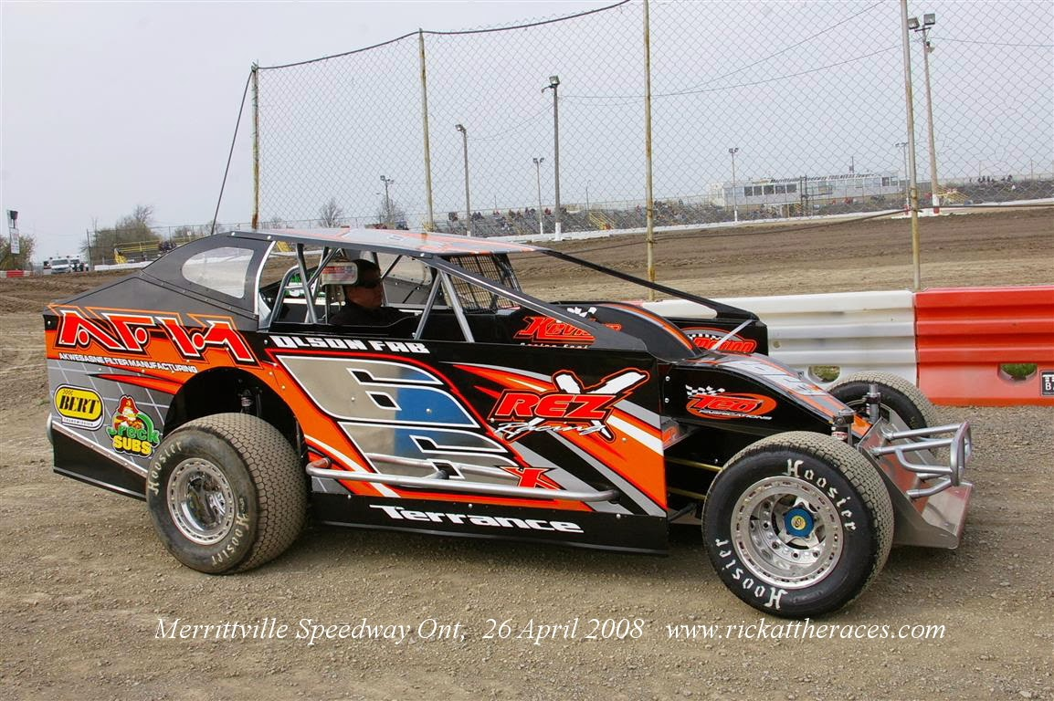 April 2008 Rick At The Races