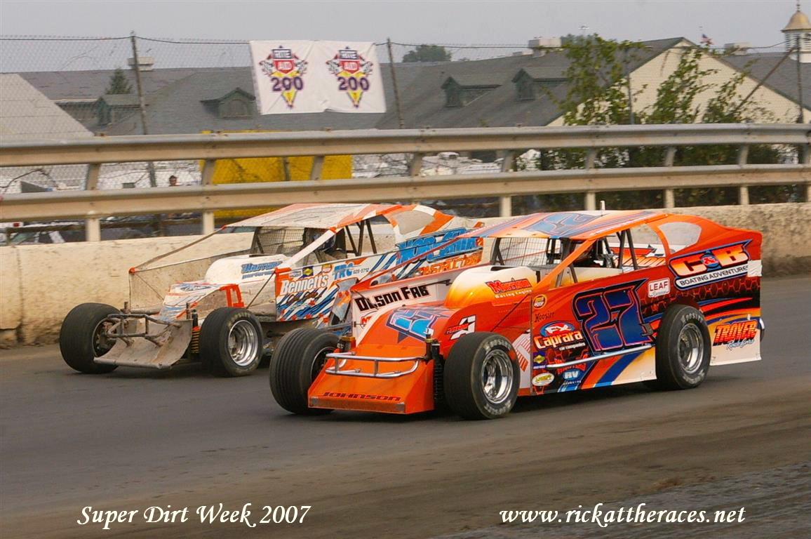 Super Dirt Week Syracuse Ny 5 6 7 Oct 2007 Rick At The Races