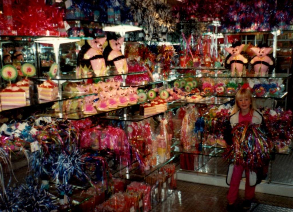 Carla enjoys a Venlo Candy store
