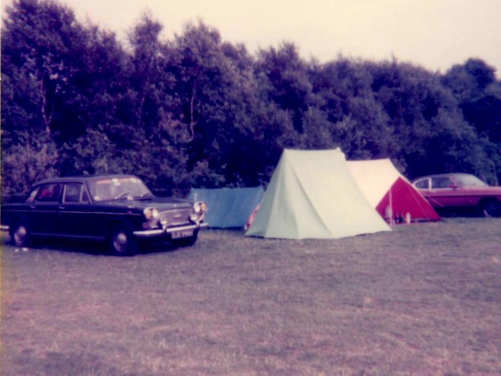 Weirden Campsite 1979
