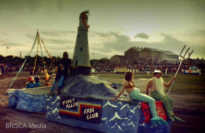 Tony Allen Fan Club float (Photographer Unknown)