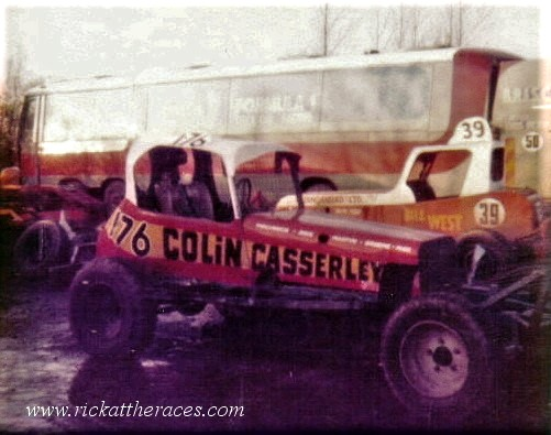 Colin Casserley's BriSCA F1 about 1980