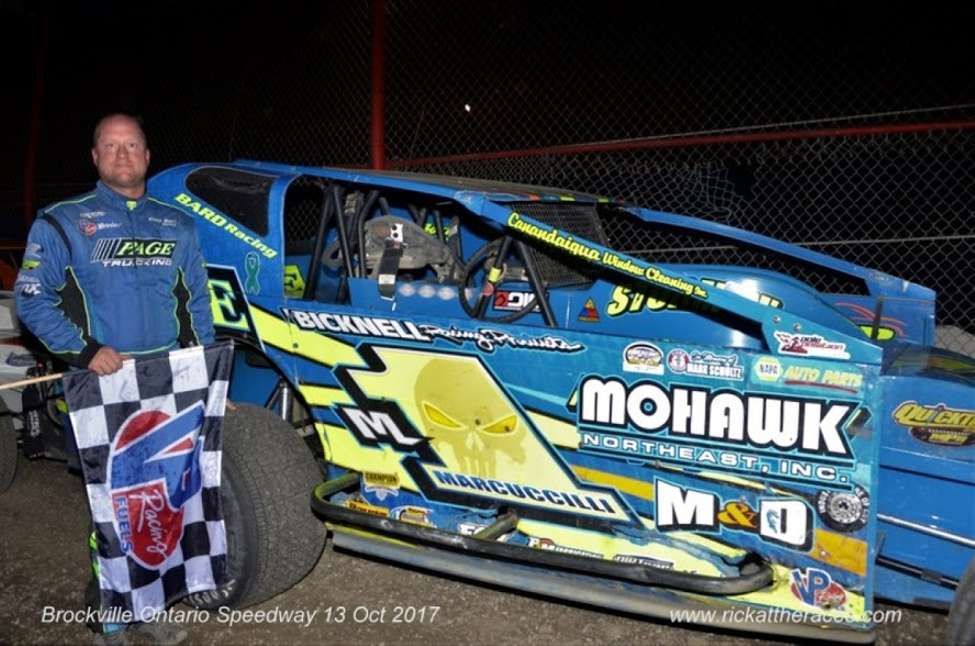 Dave Marcuccilli clinched the 2017 Sportsman Championship at Brockville earlier in the month