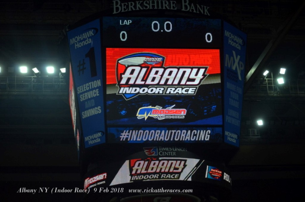 Albany NY (Indoor Race) 9 Feb 2018 www.rickattheraces.com